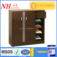 PU cheap Spray Wood funiture Paint for shoe cabinet