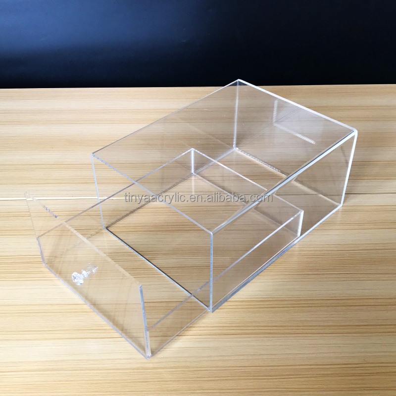 Wholesale Factory Price Transparent Acrylic Sneaker Box for Nike Acrylic Shoe Sneaker Case Display Box