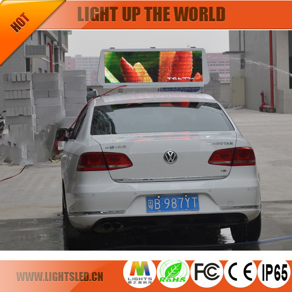 p5/p6/p4 LED 3G 4G WiFi taxi roof led display/led screen car advertising/Digital Taxi Top Advertising sign
