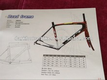 700c carbon fiber road bike frame and fork