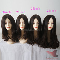 30iches Long Layered Wholesale European Virgin Hair Jewish Kosher Wigs stock