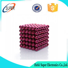 Colorful neodymium magnetic sphere beads puzzle neo cube buck balls