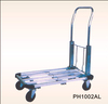 China manufacture wholesale Four wheels Foldable Platform Hand trolley truck