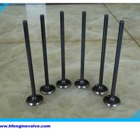 Titanium Engine Valve Parts Intake And