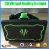 New 2015 Hot ABS helmet style mobile phone virtual reality cheap 3d glasses vr box glasses
