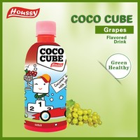 Supplier houssy nata de coco drinks with pulp,coconut water