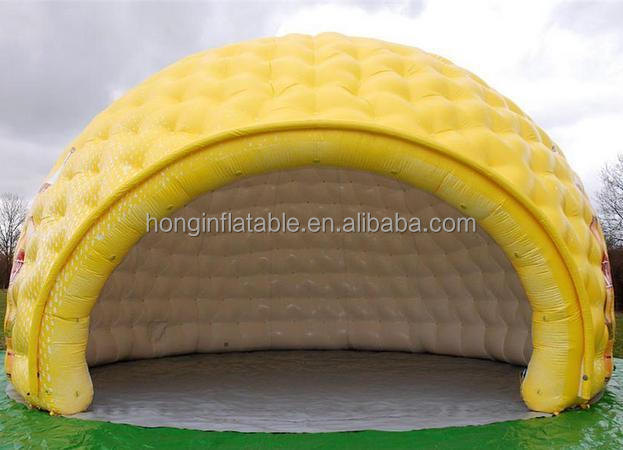 QiHong led lighting inflatable seashell , inflatable clamshell , inflatable cowry for advertising