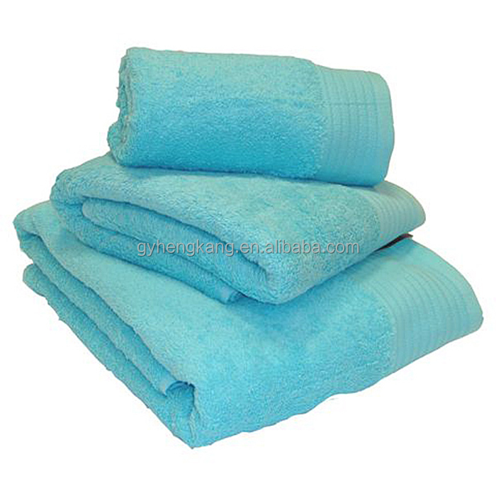 Super Soft Thick Luxury Plain Dyed Egyptian Cotton Towel Set Buy Luxury Plain Dyed Egyptian