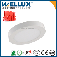 Office Lighting Round Surface Mounted Led Slim Panel