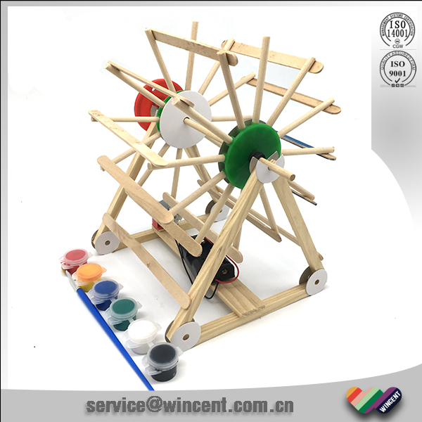 Wooden Electric Hydropower Science Working Models