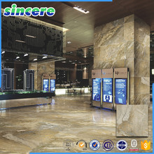 Full polished marble <strong>tile</strong> for lobby