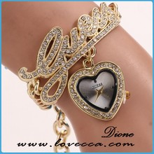 New Arrival! Watch woman gold & Watches ladies fashion watch diamond watch & Vogue watch for women bracelet watch