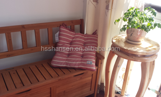 outer door wooden storage bench,long storage bench