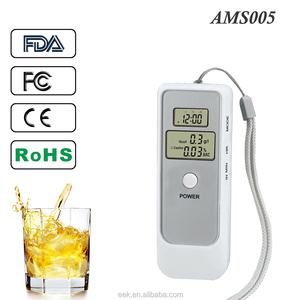 High-Precision Digital Alcohol Breath Tester Portable LCD Display Semiconductor Dual Display Detector Test Testing Analyzer