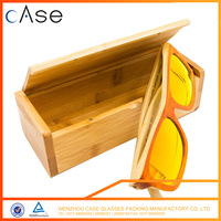 Bamboo box Glasses case Sunglasses case Wood and Wooden personalized sunglasses case
