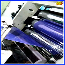 Transparent blue pvc sheet for faceplate,semi clear blue pvc sheet