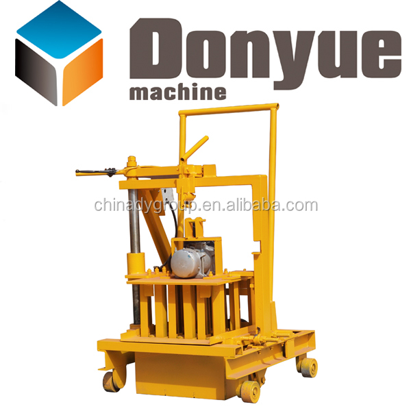 QT40-3C portable hollow block machine