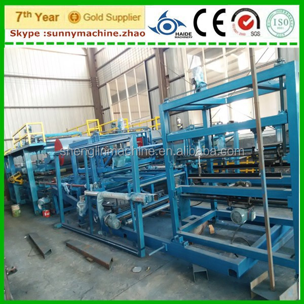 EPS wall panel line ,sandwich panel machine for dust-free workshop/public buildings