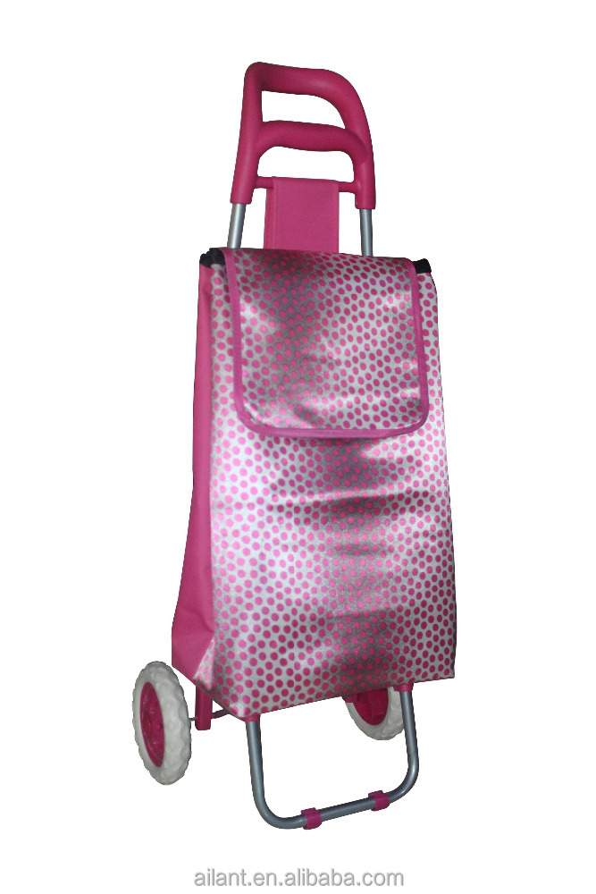 foldable grocery shopping trolley school bag