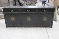Commercial Furniture Chinese Antique Vintage Wooden Sideboard Storage Cabinet