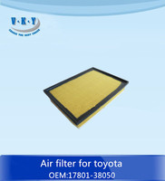 17801-38050 air filter 2010 pra do for toyota
