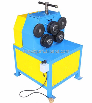 The electric angle bar bending machine, angle bar rolling machine