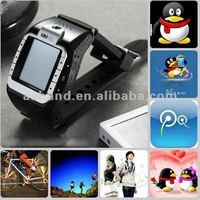 Hand Watch Mobile Phone N388+ with Triband QQ MSN 1.4inch touch screen