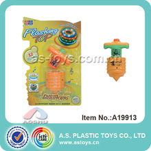 Laser Wood flash top toy