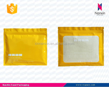 plastic underwear packaging bag with zipper