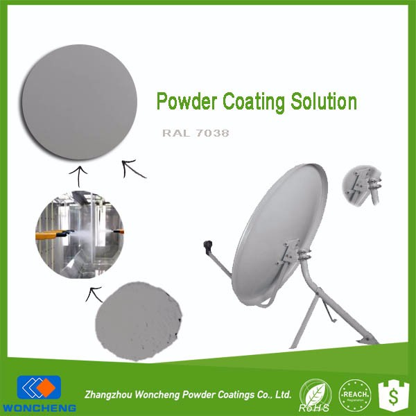 Powder Coatings Paint For Satellite Antenna Dish