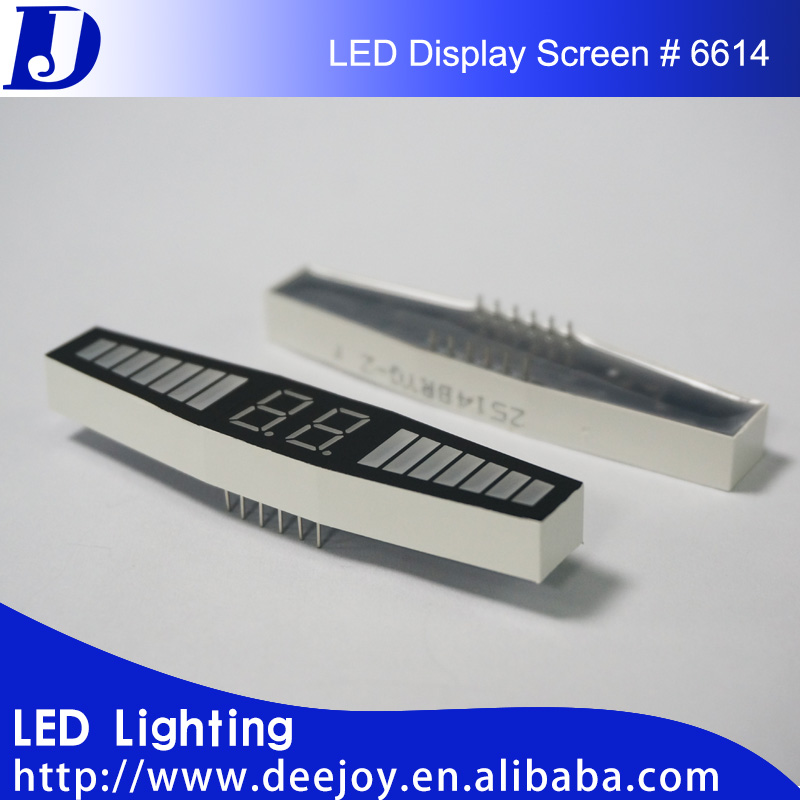 2 digit 0.36 inch 7 segment led display for treadmill exercise equipment