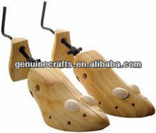Solid Wood Pine Shoe Tree