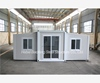 or double portable galvanized washroom expandable container house