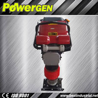 Top Seller!!! POWERGEN Honda GX160 5.5HP10KN soil tamping rammer machine