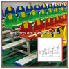 4 Row Tiered Stand With Plastic