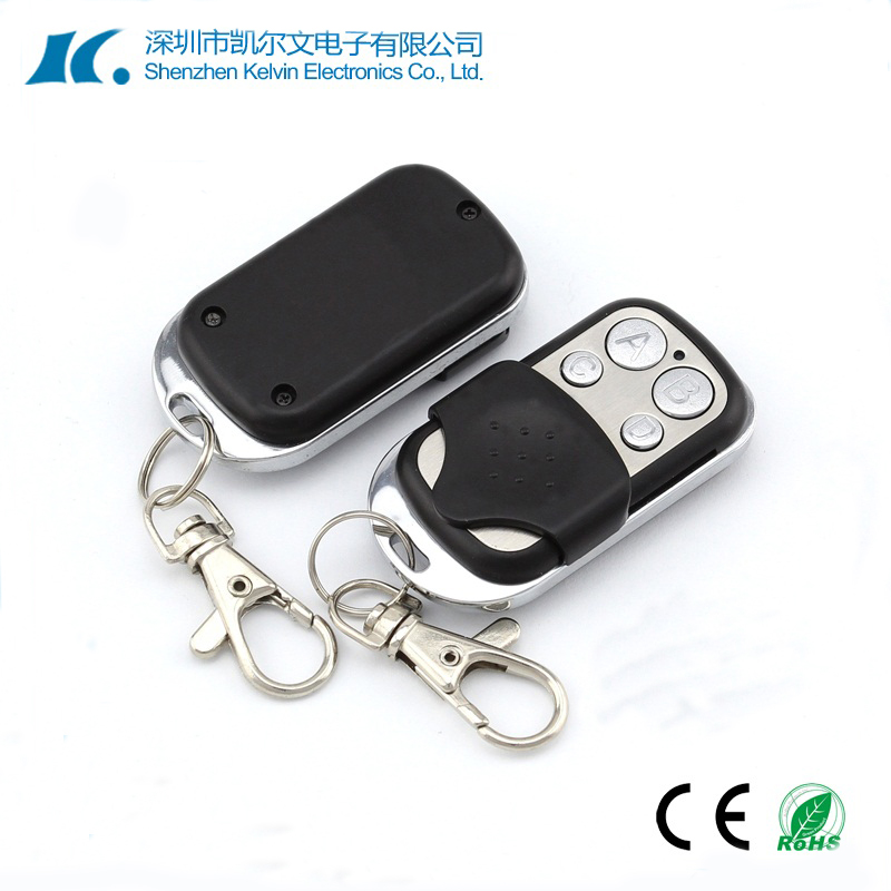 Metal shell wireless rf 4 buttons remote control duplicator for electric gate KL180-4K