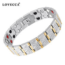 Guangzhou factory wholesale power bio energy infrared ion magnetic germanium bracelet