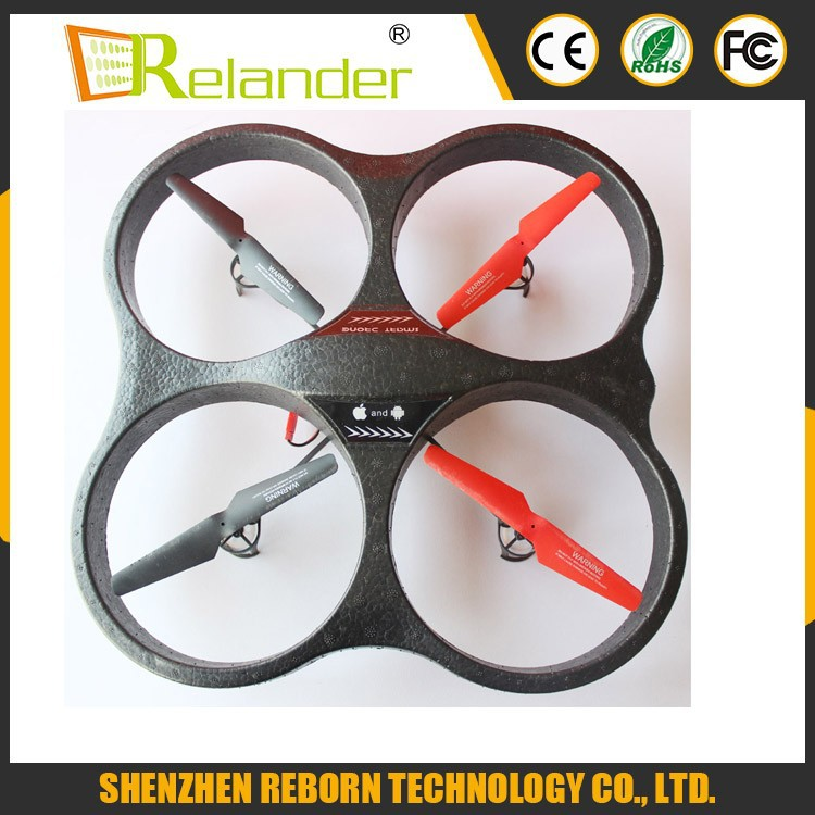 Big Toy APP Software Outdoor Quadcopter RC Helicopter UFO 3D Flip 2.4G 4 Axis Drone RC Quadcopter