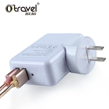 multiple usb foldable QC3.0 wall charger usa wholesale 2 amp slim dual usb wall charger pse for iphone