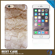 yexiang new arrival custom design mobile phone plastic case for iPhone 5 5s marble back cover