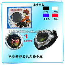 Anime Katekyo Hitman Reborn 3 d tape Wrist Watch MORE COLOR