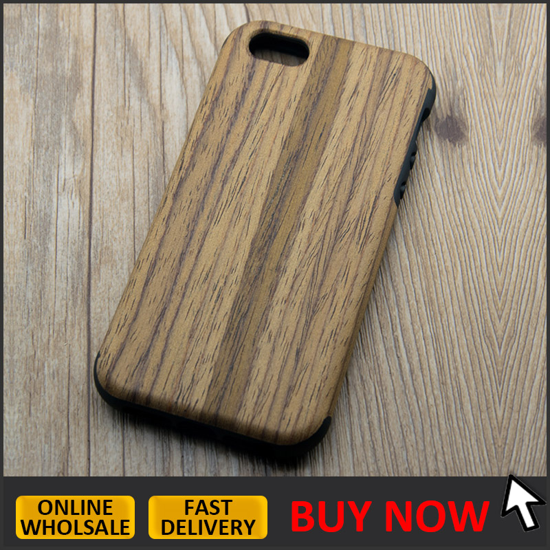 Top quality wooden pattern phone case for iphone 5 / 5s / se, for iphone 5 wood TPU case