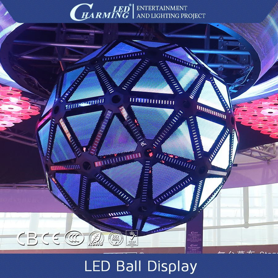 SMD3528 Magic show display 360 degree LED ball display
