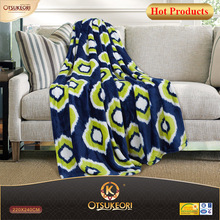wholesale coral fleece blanket 100% polyester printing flannel blanket.
