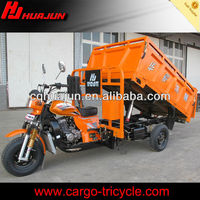 hydraulic lifter cargo tricycle with cabin/3 wheel car for sale/three wheel cargo motorcycles