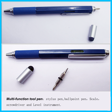 personalized popular High Quality 5 in 1 metal Multi Tool Pen made in China