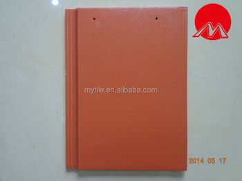 MY8053 orange body flat roof tiles