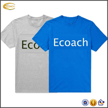 Ecoach latest <strong>design</strong> summer fashion casual round neck short sleeve 100%cotton printed men custom t shirt printing