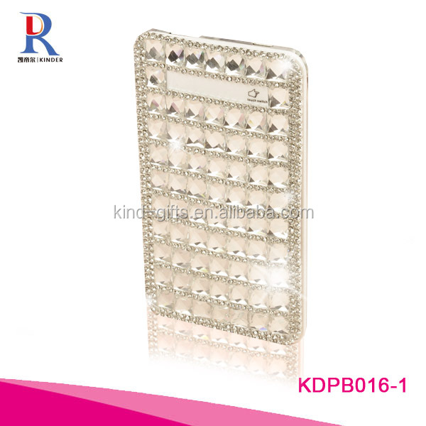 10000mAh Portable Crystal Diamond Power Bank Charger