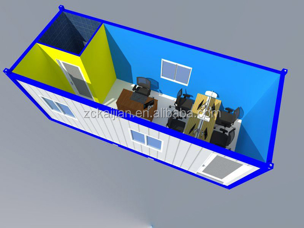 China small cheap Container office/ container dormitory/ container accomodation